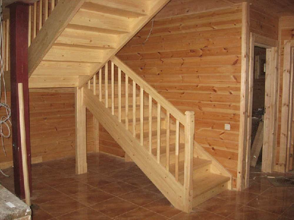 Лестницы в доме на второй этаж своими руками фото