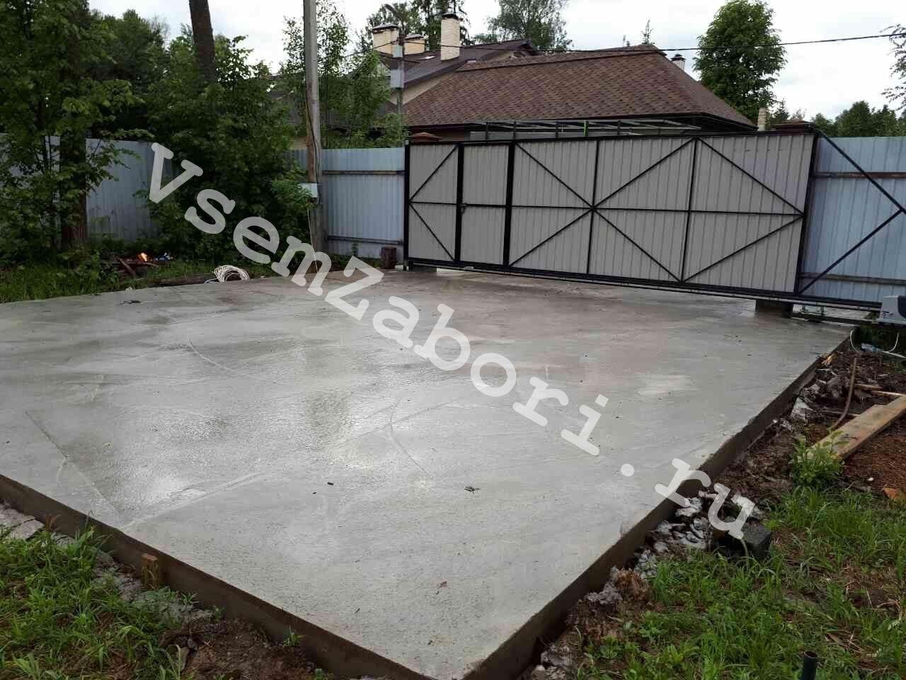 Парковка из бетона купить штукатурная станция для песчано цементного раствора